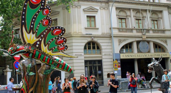 Festa Major del barri de Poblenou de Barcelona 2014