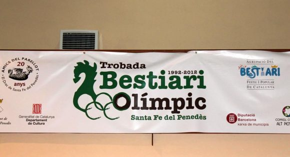 Trobada bestiari olímpic (Santa Fe del Penedès)